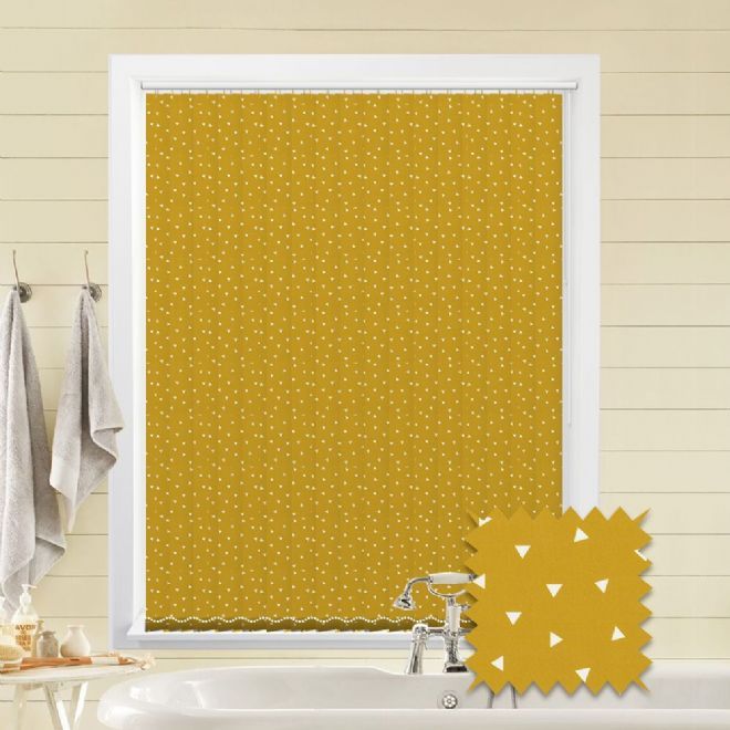 Made To Measure Pico Mustard Vertical Blind Just Blinds
